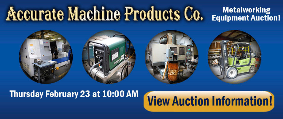 Accurate Machine Metalworking Auction