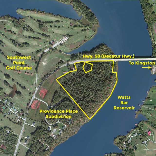SOLD – Absolute Auction – 28.6 Acres on Watts Bar Lake