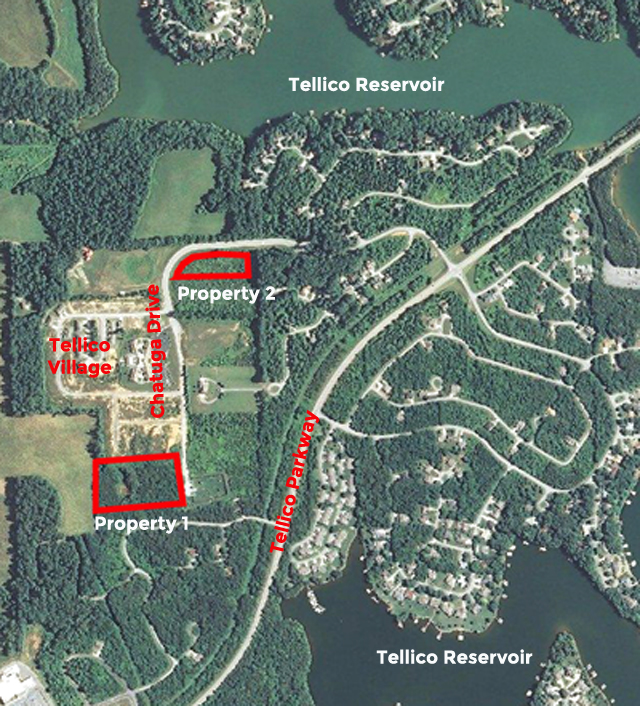 SOLD – Foreclosure Auction – 2 Tracts in Tellico Village