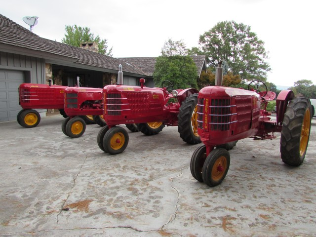 ENDED – Absolute Auction – Massey Harris Tractor Collection & Mercedes Convertible