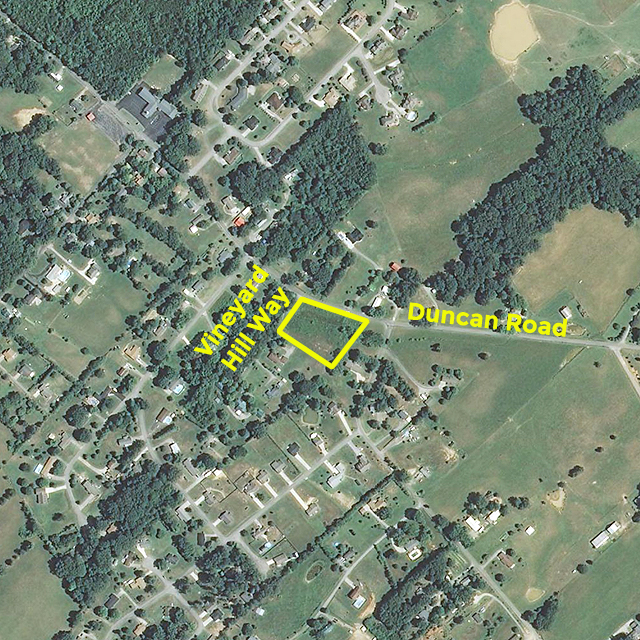 SOLD – Absolute Auction – Approx. 2.5 Acres Residential Land in Maryville