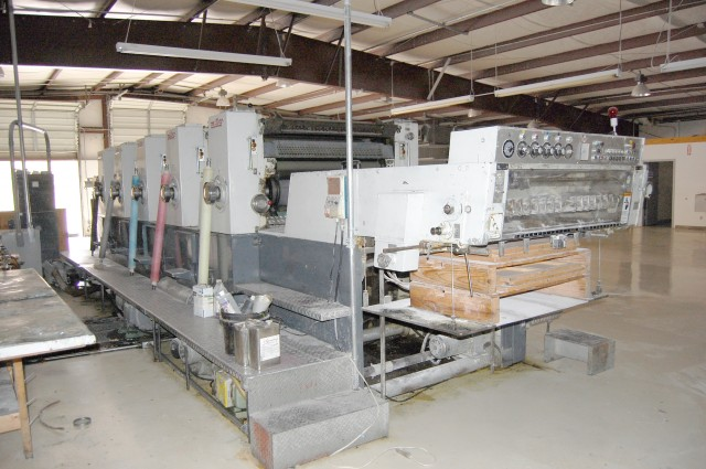 ENDED – BID NOW! Online Only Auction – Printing Equipment Auction