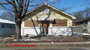 Property A-13 - 2503 Dodson Ave
