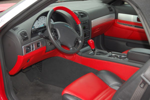 Inner View Car Stylish Stearing