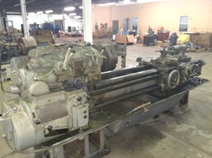 Pratt and Whitney Lathe