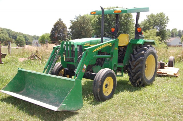 ENDED – Farm Equipment & Real Estate Auction