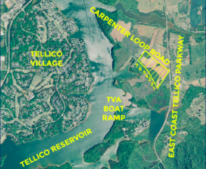 Carpenter Loop Aerial Map
