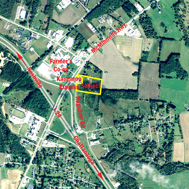 SOLD – Absolute Auction – 11.74 Acre Commercial Development Tract