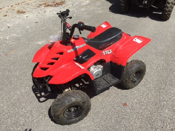 ENDED – Online ONLY Auction – Liquidation of NEW! ATVs