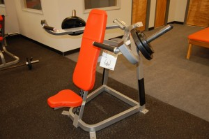 City Fitness Health Club Plate Load Chest