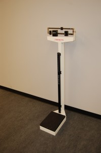 City Fitness Health Club Scales