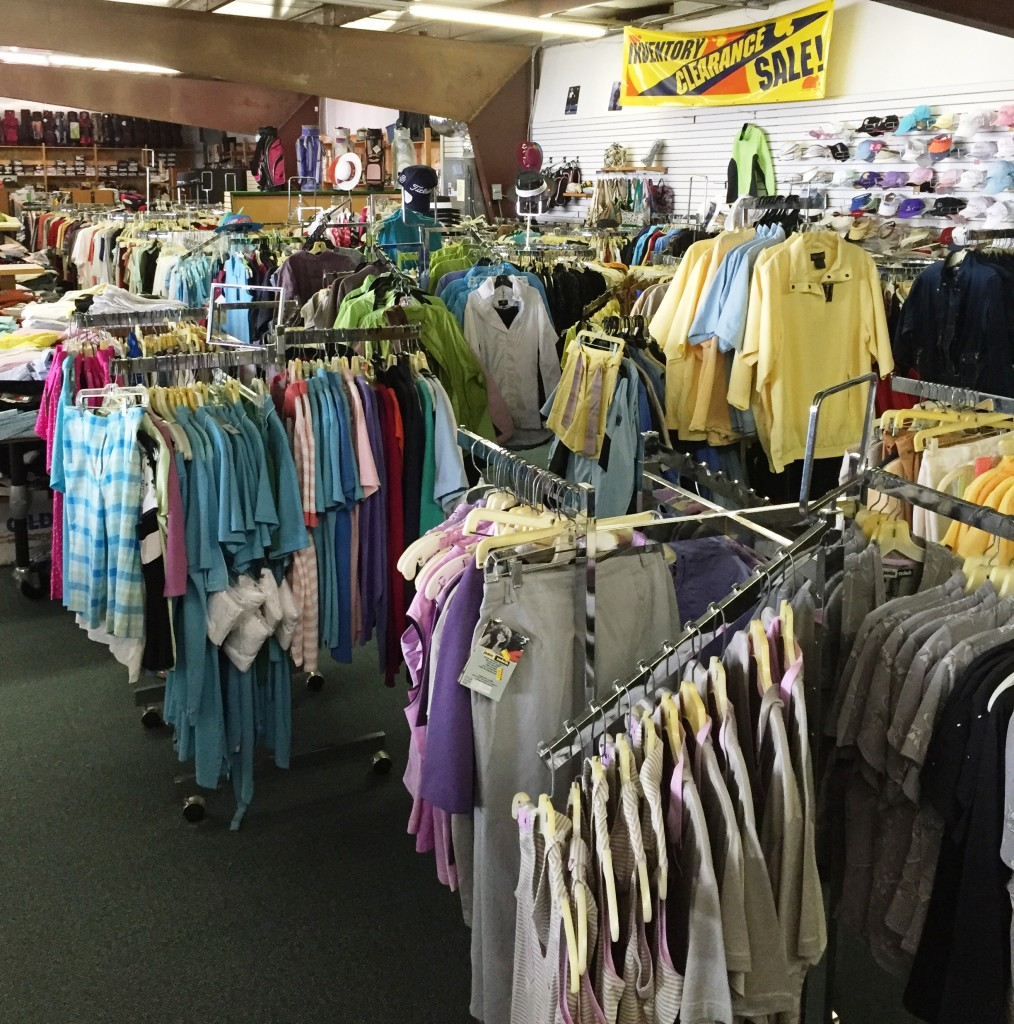 ENDED – ONGOING LIQUIDATION SALE OF U.S. GOLF & TENNIS
