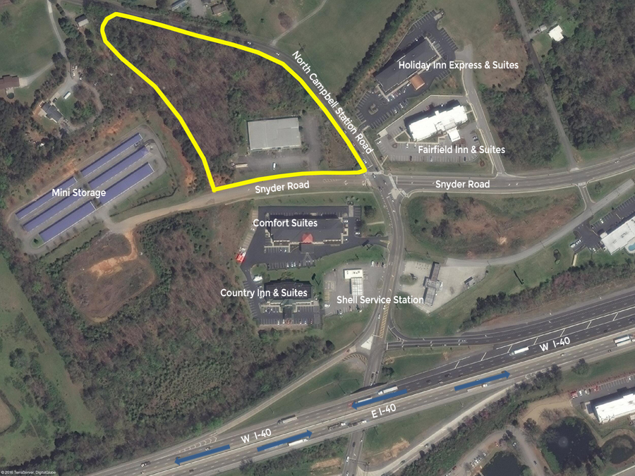 SOLD – Foreclosure Real Estate Auction – Prime Commercial Property with Interstate Visibility