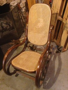 20 Wicker Backed Rocker