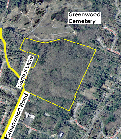 SOLD – Absolute Real Estate Auction – 57.22 Acres of Residential Development Land (Chattanooga)