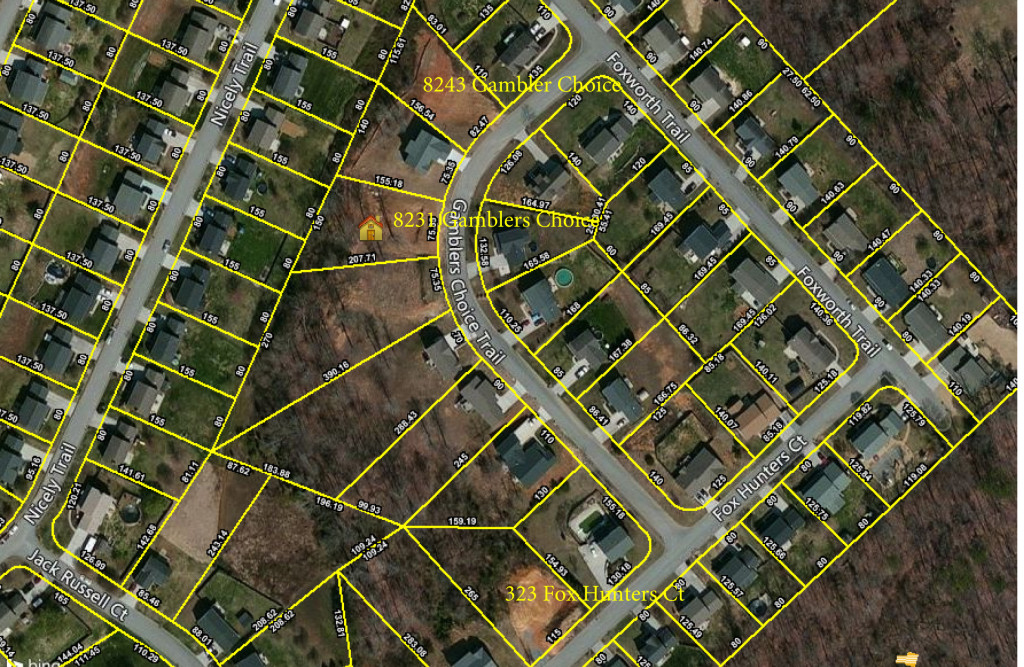 SOLD – Absolute Real Estate Auction: 3 Residential Development Lots in Foxworth Subdivision