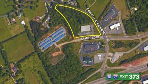 Snyder Aerial Map