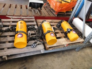 Rescue Respirator Tanks and Regulators