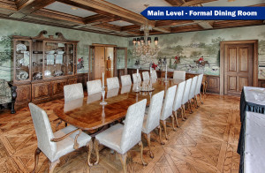 Formal Dining Room on Main Level
