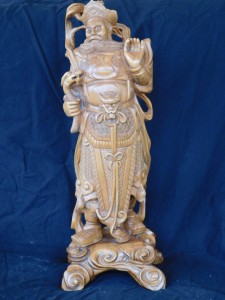 Hand Carved Oriental