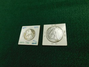 C - Sitting Liberty Silver Coins