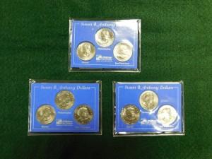 C - Susan B. Anthony Silver Dollars