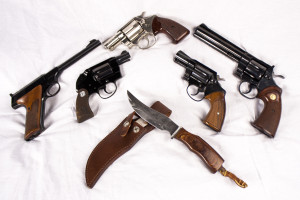 Colt weapons
