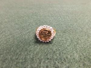 J - 18K Gold Panda Ring