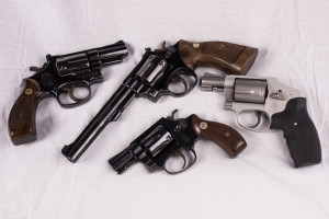 Smith and Wesson guns