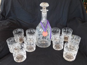William Yeoward Decanter and Tumblers