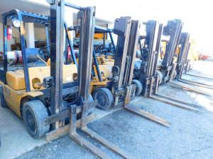 16 Forklifts