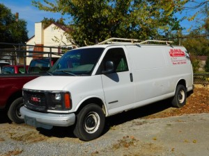 2001 GMC 2500 Cargo Van
