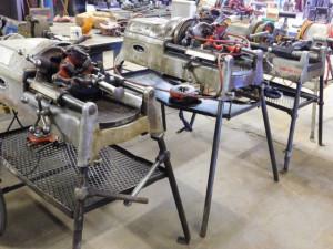 Ridgid Threading Machines