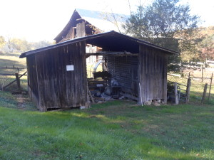 Storage Barn on Property