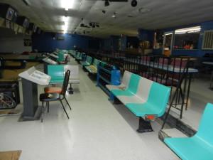 Seating and Scorekeeping Booths