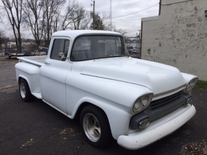 1959 Chevrolet Truck from left