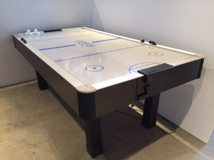 Air Hockey Table w/ Cover Off