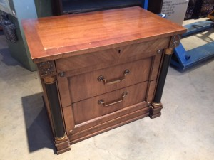 Double Drawer End Table