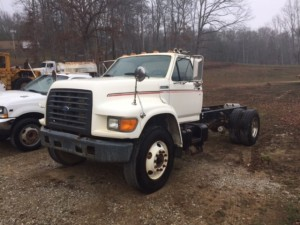 Ford Diesel Cab and Chassis