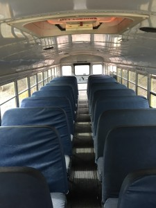 Thomas School Bus Interior