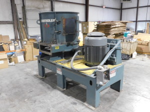 1998 Gruendler Tub Grinder, Mdl. 48-HRS 100hp, new blades, 48 diameter, Less than 50 hours since rebuild, sn 500367
