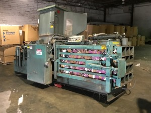 Maren Engineering Closed Door Baler, Mdl. 122, 36 x 32 20hp