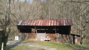 Open Air Barn on Property