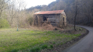 Wooden Barn on Property