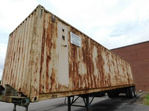 40' Storage Container and Trailers