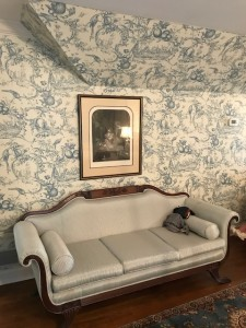 Elizabeth Lane Farm_Antique Duncan Phyfe Style Sofa