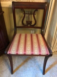 Lambeth - 1 of 4 Harp style dining chairs