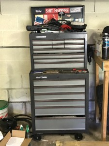 Lambeth - Craftsman Toolbox with tools