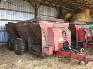 2 of 2 Manure Spreaders