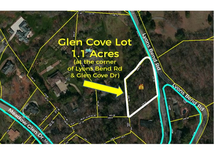 ABSOLUTE REAL ESTATE AUCTION – 1.1 Acres, Prime Residential Lot in Bearden Area of West Knoxville